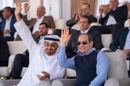 السيسي ومحمد بن زايد يحضران سباق الهجن في مصر