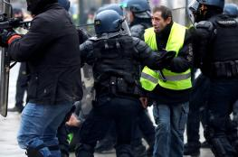 وزير الداخلية الفرنسي: يحق للشرطة فقط فض الاحتجاجات بالقوة