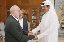 هنية يهاتف أمير قطر ويطلعه على اتفاق المصالحة الفلسطينية