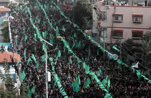 فعاليات انطلاقة حركة حماس 32 في قطاع غزة