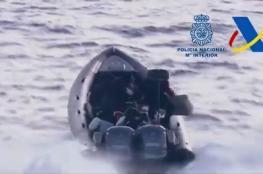 شرطة إسبانيا تعتقل مهربي مخدرات في البحر المتوسط بعد مطاردة مثيرة