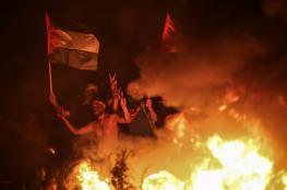 """رفضًا لـ""""مسيرة الأعلام"""".. الإرباك الليلي يعود على السياج الفاصل شرق غزة"""