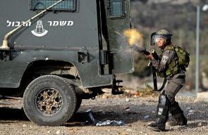 إصابات خلال تصدي المواطنين لمستوطنين حاولوا اقتحام خان اللبن الشرقية