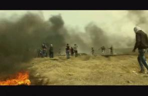 الثورة في أسبوعها الرابع .. مشاهد من دمٍ ونار #مسيرة_العودة_الكبرى #جمعة_الشهداء_والأسرى