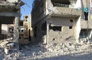 #شاهد آثار الدمار الهائل في مدينة درعا جراء قصف طيران النظام وروسيا تزامناً مع معركة الموت ولا المذلة