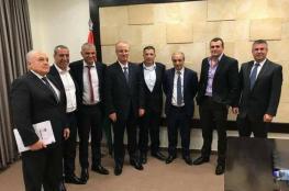 لقاء فلسطيني إسرائيلي في رام الله