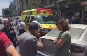 #شاهد الاحتلال يقول إن ما حدث في تل أبيب عبارة عن حادث سير وليس عملية فدائية
