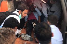 8 اصابات برصاص الاحتلال شرق قطاع غزة
