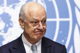 دي ميستورا: مفاوضات جنيف مرهونة بصمود وقف إطلاق النار
