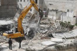 الاحتلال يهدم مغسلة سيارات في القدس