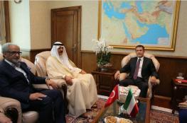 الكويت وتركيا تبحثان التعاون العسكري المشترك