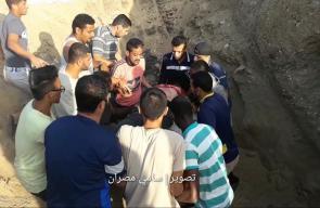#فيديو| لحظة الشهيد الطفل زكريا بشبش (13 عاماً) الذي استشهد متأثرا بجراحه التي أصيب بها برصاص جيش الاحتلال شرق مخيم البريج وسط قطاع #غزة قبل أيام  تصوير | سامي مصران