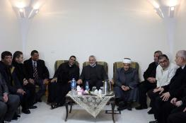Hamas Chief Visits Latin Church in Gaza