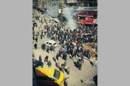 السلطة تقمع وقفة ضد الإعتقال السياسي في الخليل