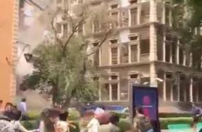 فيديو يرصد اللحظات الأولى لزلزال المكسيك المدمر