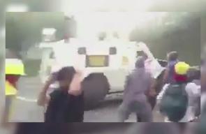 اشتباكات بين المتظاهرين والحرس الوطني التابع لـ لرئيس البلاد مادورو جراء أزمة سياسية تشهدها البلاد