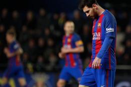 برشلونة يخطف نقطة التعادل من فياريال بهدف ميسي القاتل