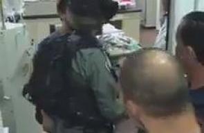 فيديو يظهر قوات الاحتلال أثناء اقتحامها مستشفى المقاصد في القدس اليوم بحثا عن مصابين