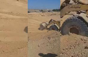 #شاهد البدء بإنشاء منطقة عازلة في الجانب الفلسطيني على حدود مصر بمسافة 100 متر