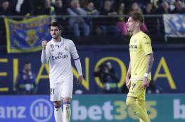 رأسية موراتا تقفز بريال مدريد إلى صدارة الدوري