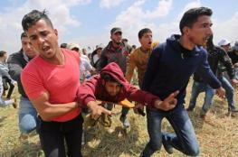 اصابتان شرق غزة ودير البلح واطلاق نار شرق البريج
