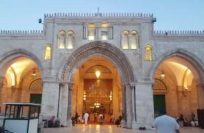 #شاهد موائد الإفطار والأجواء في المسجد الاقصى المبارك في الرابع من رمضان بالعاصمة الفلسطينية المحتلة .