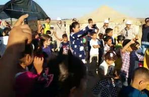 مهرجان فرحة عيد مع الفنان علي نسمان من قلب مخيم العودة شرق جباليا  بث انس الشريف