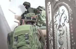 #فيديو من اقتحام قوات الاحتلال منزل الأسير الجريح