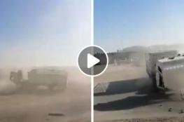 شاحنة مجنونة بدون سائق تثير فزع السعوديين