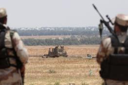 الاحتلال يصيب أحد عناصر الضبط الميداني شرق دير البلح