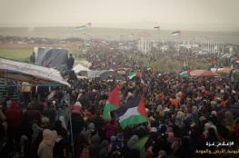مسيرات العودة سلمية ومستمرة