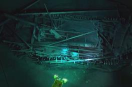 العثور على أقدم حطام لسفينة في البحر الأسود
