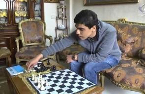 محمد علام أصغر لاعب شطرنج في فلسطين