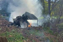 """سقوط طائرة """"ميغ 21"""" غربي صربيا"""