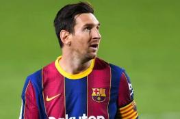 ميسي خارج قائمة برشلونة في مباراة الأبطال الليلة
