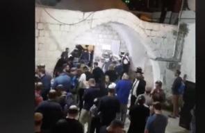 #مباشر اقتحام المستوطنين لقبر يوسف في نابلس بحماية أعداد كبيرة من جنود الاحتلال