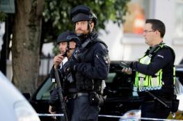 الشرطة البريطانية تحتجز مشتبهاً به في محطة قطار