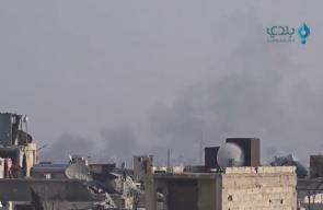 الطيران الحربي يقصف بلدات الغوطة الشرقية بعدة غارات في ريف دمشق