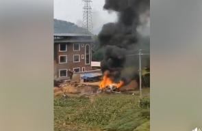 تايوان تسقط مقاتلة صينية من طراز Su-35