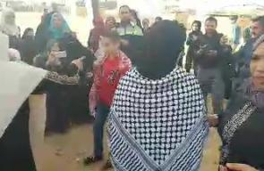 #شاهد حفل زفاف فلسطيني ضمن فعاليات مخيم العودة شرق غزة  تصوير عبد الرحمن الكحلوت