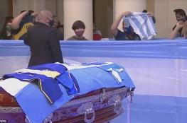 لهذا السبب.. محكمة أرجنتينية تقضي بحفظ جثة مارادونا