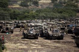 جيش الاحتلال ينهي تدريبات عسكرية كبيرة في منطقة البقعة