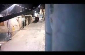 ماذا فعل الشبان بجيب لقوات الاحتلال في بلدة حزما شمال شرق القدس المحتلة