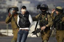 الاحتلال يعتقل 13 فلسطينيا من الضفة
