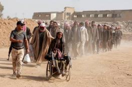ارتفاع حاد في أعداد النازحين من غرب الموصل