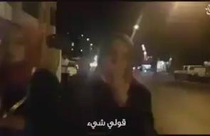تبكي حرقة للأقصى ..   أصيبت ابنتها في احداث الأقصى.. شاهد ماذا قالت هذه الأم التركية؟