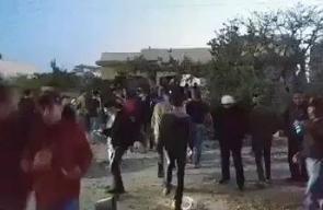 #فيديو الاحتلال يفجر منزل الأسير الفلسطيني أحمد قنبع في مدينة جنين فجر اليوم