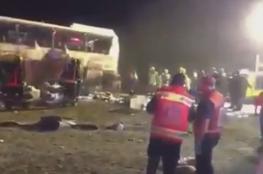 وفاة 6 معتمرين بحادث انقلاب حافلة بالسعودية