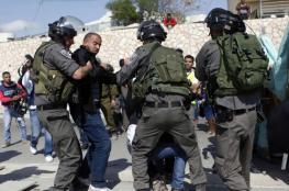 الاحتلال يعتقل 20 فلسطينيا من القدس