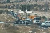 الاحتلال يطلق النار على مركبة فلسطينية قرب يطا